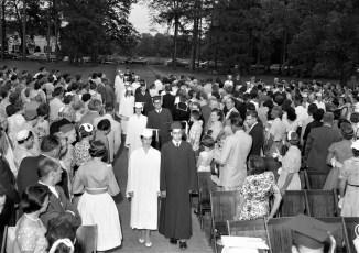 Red Hook High School Graduation 1957 (2)