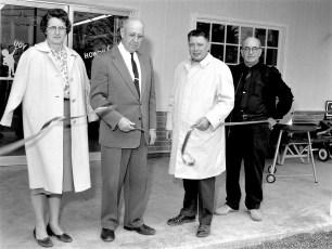 Scheffler Lumber Co. New Building Opening Red Hook 1965