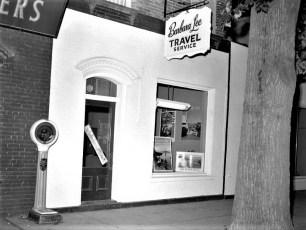 Barbara Lee Travel Service Rhinebeck 1960