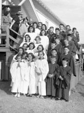 Holy Cross Church Confirmation Taghkanic 1957 (1)