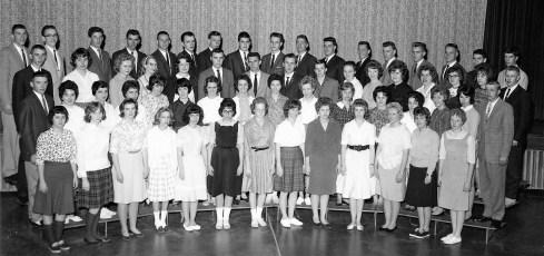 Ichabod Crane Central School Senior Class 1962