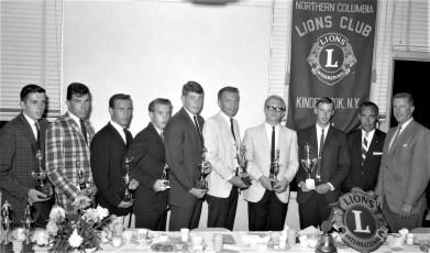 Ichabod Crane Central Varsity Club Dinner by Northern Col. Lions 1965