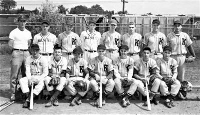Valatie Kinderhook Baseball Team 1955