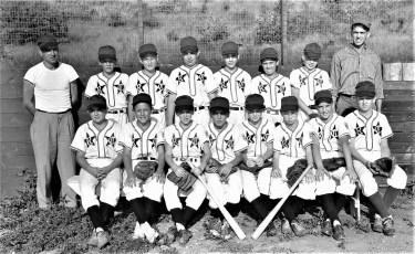 Valatie Little League Team taken at Chatham Field 1957