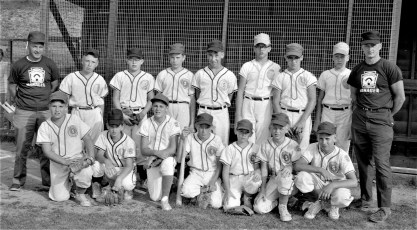 Stottville Little League Team 1965