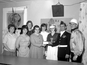 Philmont American Legion Drill Team Donation 1963