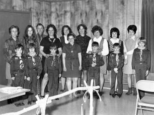 Philmont Cub Scouts Blue & Gold Banquet 1973 (1)