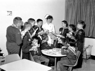 Philmont Cub Scouts donate to CMH 1965