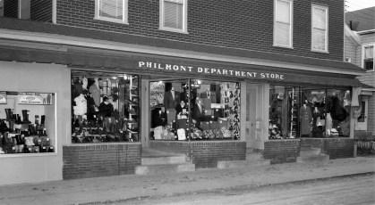 Philmont Department Store 1954