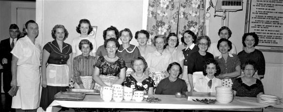 Philmont Legion hosts County Dinner Meeting 1956 (2)