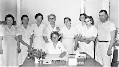 Philmont Old Age Home Staff 1957