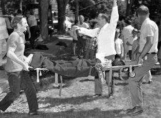 Philmont Rescue Squad disaster drill 1970 (4)