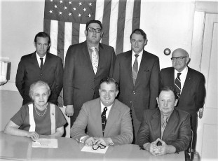 Philmont Town Board 1971