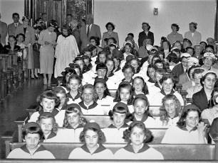 Sacred Heart Church 1st. Communion Philmont 1957 (2)