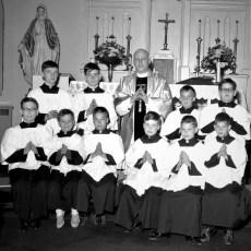 Sacred Heart Church Alter Boys Philmont 1967