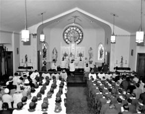 Sacred Heart Church Confirmation Philmont 1965 (1)