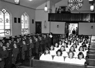 Sacred Heart Church Confirmation Philmont 1965 (2)