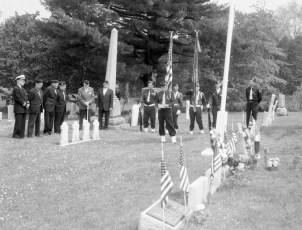 Memorial Day Services Red Church  Tivoli 1968