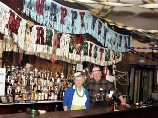 Morey's Hotel holiday decorations Tivoli 1970