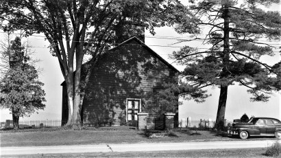 Red Church Rt. 9G Tivoli 1958