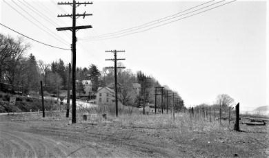Site of once Tivoli R.R. Station 1974