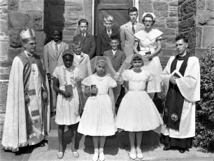 St. Paul's Church Confirmation Tivoli 1960