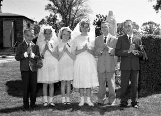 St. Sylvia's Church First Communion Tivoli 1963 (1)