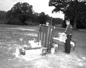 Tivoli American Legion New Flag Ceremonies 1963 (4)