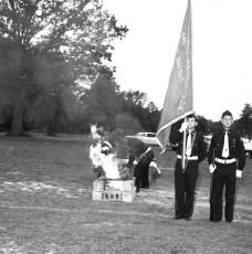 Tivoli American Legion New Flag Ceremonies 1963 (5)