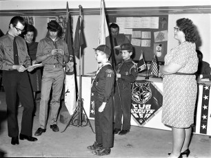 Tivoli Cub Scout Pack 16 Blue & Gold Banquet 1973 (4)