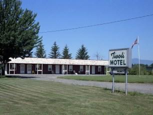 Tivoli Motel Route 9G Tivoli 1973
