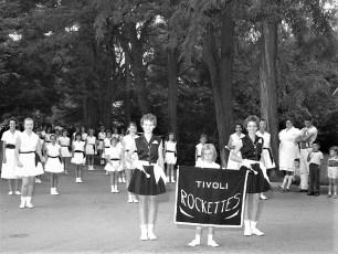 Tivoli Rockettes in Red Hook parade 1960
