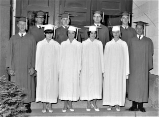 Tivoli School Graduation 1965 (1)