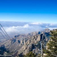 Sandia Mountains – Views from the Tram