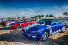 Only a handful of Mustangs showed up.