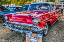 A beautiful '57 Chevy restoration.