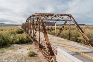 Gillespie Dam Bridge.