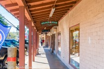 Shops on the walkway.