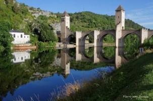 Le Pont Valentré, Cahors, 23 juin 2015