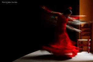 Démonstration de Flamenco par Jeranys « La Yera » et Juan Carlos Cardoso à La Casa de la Memoria, Séville, 28 octobre 2015