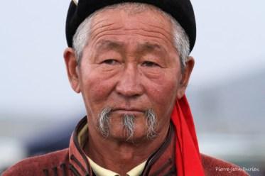 Officiel du Naadam, Karakorum, Mongolie, Juillet 2013