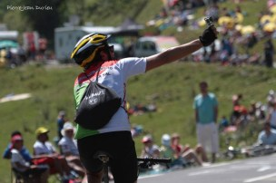 Je suis sur le Tour de France, La Pierre Saint-Martin, 14 juillet 2015