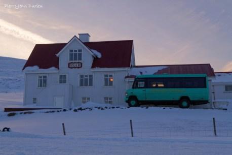 Auberge d'Osar, Péninsule de Vatnsness, Islande