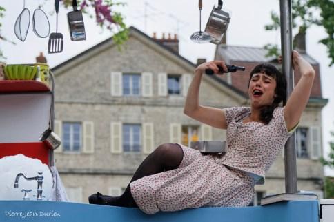 La Cuisinière, Festival Cirque et Fanfares, Dole, 14 mai 2016