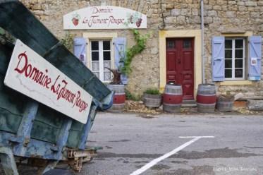 Domaine vinicole, Lagrasse, 30 mai 2016