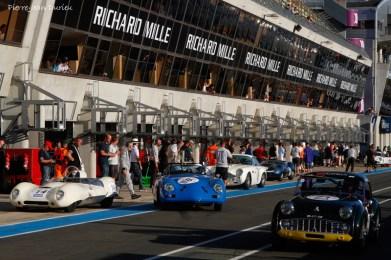 Trafic dans la pitlane, Le Mans 9 juillet 2016