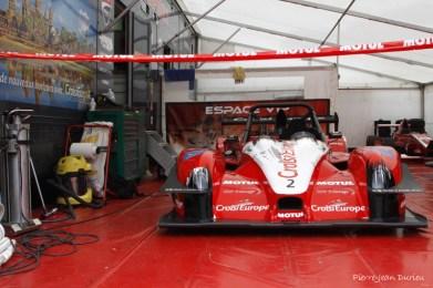 La voiture de Sébastien Petit, Chamrousse, Août 2016