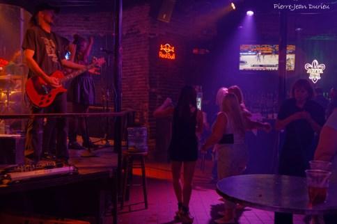 Musique dans un bar de Bourbon Street, Nouvelle-Orléans, Mai 2015