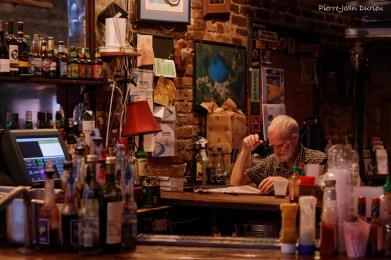 Dans un bar de la Nouvelle-Orléans, Louisiane, mai 2015