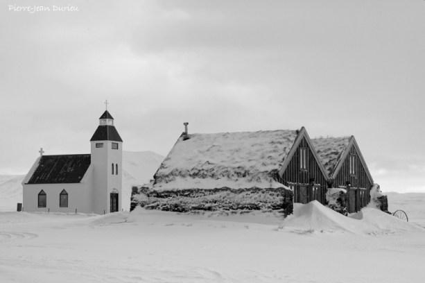 Modurdalur, la ferme la plus isolée d'Islande, Mars 2016